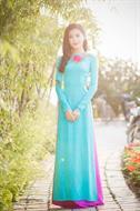 Áo dài xanh ngọc AD038