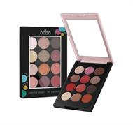 Bảng Phấn Mắt 12 Ô Odbo Colorful Shades Of Eyeshadow