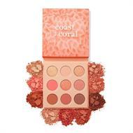 Bảng Phấn Mắt 9 Ô Colourpop Coast To Coral Eyeshadow Palette