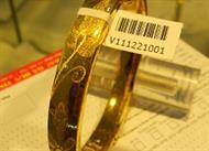 In tem mã vạch cho cửa hàng vàng bạc
