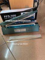 Máy hàn miệng túi dập tay PFS300-8mm