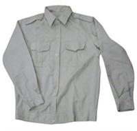 Áo bảo hộ lao động kaki Nam Định loại 1 màu ghi