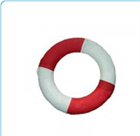 Phao bơi cứu sinh xốp trắng đỏ