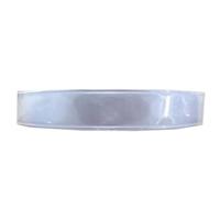 Dây phản quang nhựa bản 2.5cm màu trắng