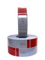 Cuộn phản quang dán màu đỏ trắng
