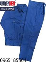 Quần áo bảo hộ vải kaki Vĩnh Phú