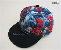 Mũ hiphop siêu nhân cho bé MXK048