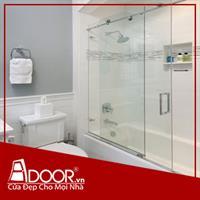 Phòng tắm kính cường lực: Mẫu 2