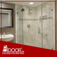 Phòng tắm kính cường lực: Mẫu 3