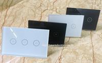 Combo 4 công tắc cảm ứng wifi 3 nút