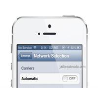 Sửa iPhone 5S bị mất sóng