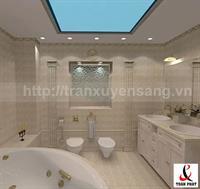 Mẫu trần nhà tắm xuyên sáng số 3