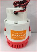 12V- 3000GPH Máy Hút Chất Bẩn, Hút Đáy Bể, Dọn Vệ Sinh Bể Cá  Bilge Pump