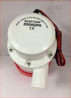 12V- 3500GPH Máy Hút Chất Bẩn, Hút Đáy Bể, Dọn Vệ Sinh Bể Cá Bilge Pump