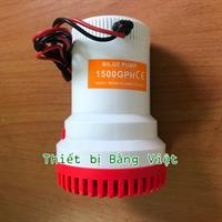 12V - 1500GPH High Flow Water Bilge Pump - Máy hút chất bẩn, hút đáy bể, vệ sinh bể cá