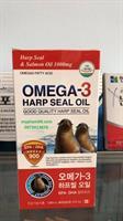 Dầu Hải Cẩu Omega 3 bổ sung DHA  và EPA Harp Seal Oil 300psc