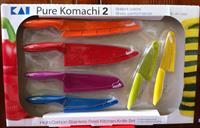 Bộ Dao Nhà Bếp Pure Komachi 2 High Carbon Stainless Steel