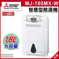 Máy hút ẩm MITSUBISHI MJ-180MX-W