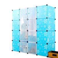 Tủ nhựa đa năng nhiều hình mẫu 4 tầng 12 ngăn - TN0029