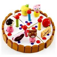Đồ chơi gỗ Bánh sinh nhật Mother Garden AYX0058