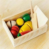 Đồ chơi gỗ cắt ghép hoa quả Mother Garden AYX0057