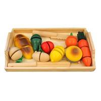 Đồ chơi gỗ cắt ghép hoa quả Mother Garden AYX0056