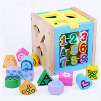 Đồ chơi gỗ giáo dục dạng khối hộp AWS0014