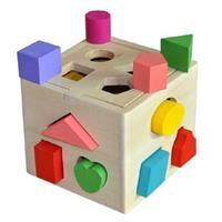 Đồ chơi gỗ giáo dục dạng khối hộp AWS0015
