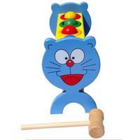 Đồ chơi gỗ dạng đập bóng hình mèo Doremon AWS0041