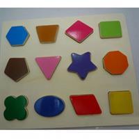 Đồ chơi gỗ dạng xếp hình học AYX0029