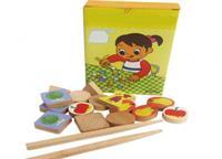 Đồ chơi gỗ gắp thức ăn DG1-014
