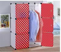 Tủ nhựa lắp ghép đa năng thông minh 3 tầng 6 ngăn - TN0057