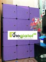 Tủ nhựa lắp ghép đa năng 4 tầng 10 ngăn - TN0072