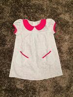 Váy suông H&M cổ sen cộc tay cho bé