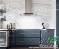Tủ bếp lamilate blue