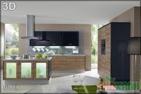 Mẫu tủ bếp GCN5