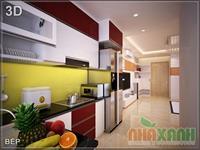 Tủ bếp ACRILIC An Cường