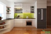 Tủ bếp công nghiệp MDF