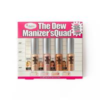 Set Nhũ Kem Highlight The Balm The Dew Manizer's Quad Liquid Highlighters & All-over Illuminator