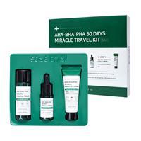 Bộ Trị Mụn Mini 3 Sản Phẩm Some By Mi AHA-BHA-PHA 30 Days Miracle Travel Kit