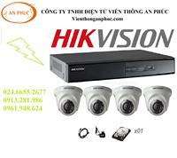 CAMERA TRỌN BỘ GIÁ RẺ - x04 CAMERA HD HIKVISION