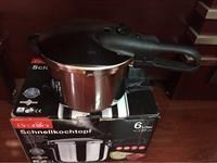 Nồi áp suất cho bếp từ Bratoni 6 lít xách tay Đức