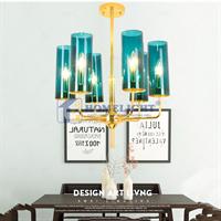 Đèn chùm phòng khách hiện đại LADY006-6 - Homelight