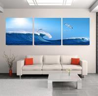 Tranh treo tường hiện đại Biển Hát