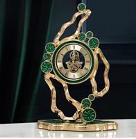 Đồng hồ bàn cao cấp Đồng và Đá Cẩm Thạch - BH20014