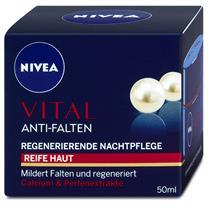 Kem dưỡng da Nivea Vital Anti Falten Regenerierende Nachtpflege