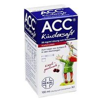 Thuốc cảm cúm, ho long đờm Acc Kindersaft