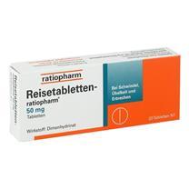 Thuốc chống say tàu xe Reisetabletten Ratiopharm