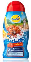 Sữa Tắm Gội Saubar Erdbeere 2 in1 cho bé