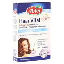 Thực phẩm chức năng kích thích mọc tóc Abtei Haar Vital Intensiv-Kur Mit Biotin